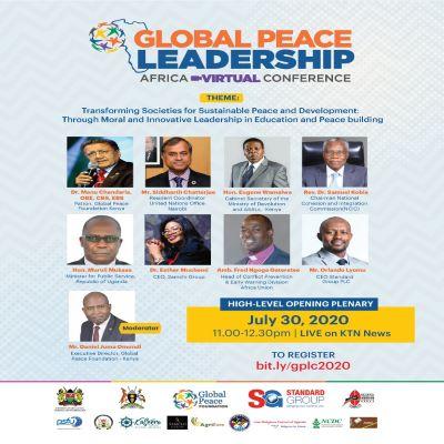 Global Peace Leadership Africa Virtual Conference kicks off in Nairobi
