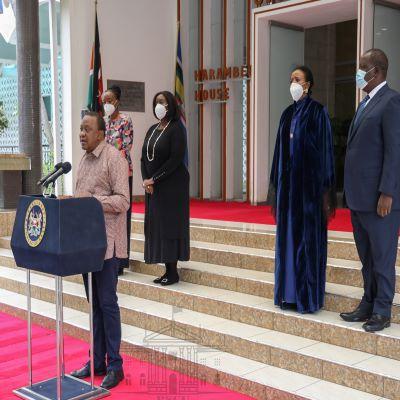 President Kenyatta vouches for CS Amb. Amina Mohamed for World Trade Organization top job