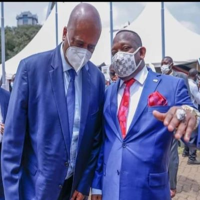"Nairobi Governor Mike Sonko and NMS Boss General Badi ""Kiss and Make Up"""