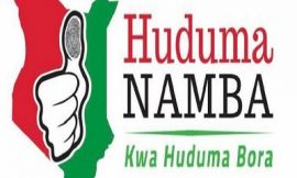 Finally Huduma Number cards to be issued by June 2021.