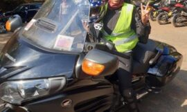 2nd Lady Rachel Ruto leads Kenyans in mourning Biker Kui Gitonga killed in a Road Accident