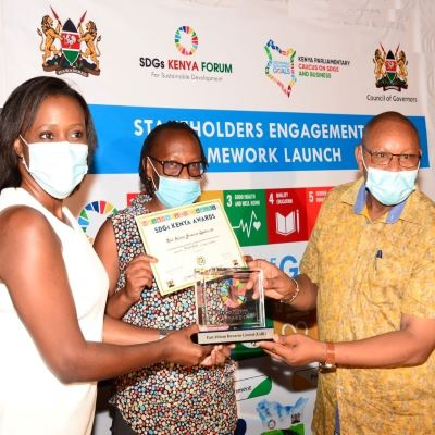 KBL named Private Sector Winner at the 2020 SDGs Kenya Awards