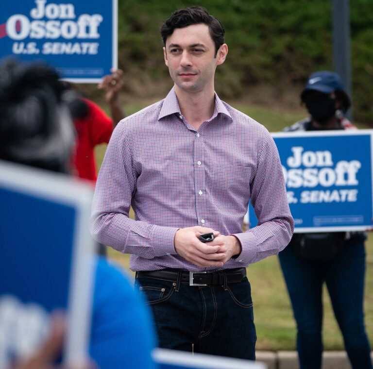 33 Year Old Jon Ossof declares Victory in Georgia Senate run-off Race