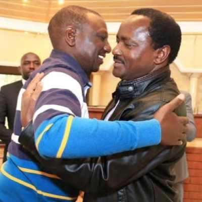 Kalonzo goes after Ruto's neck, compares him to disgraced Donald Trump