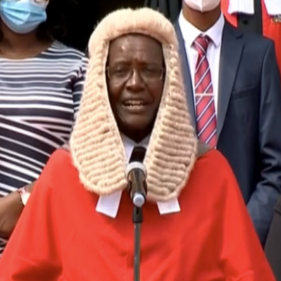 Chief Justice David Maraga bows out. Deputy CJ Mwilu takes over for 6 Months