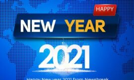 Happy New Year from all of us at Newsbreak Media Ltd
