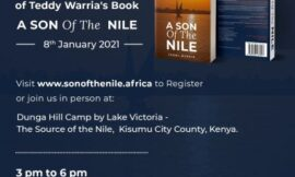 "Top Nyanza entrepreneur Teddy Warria launches his book ""A Son of the Nile"""