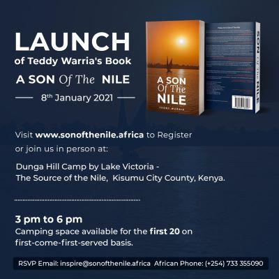 """Top Nyanza entrepreneur Teddy Warria launches his book """"A Son of the Nile"""""""