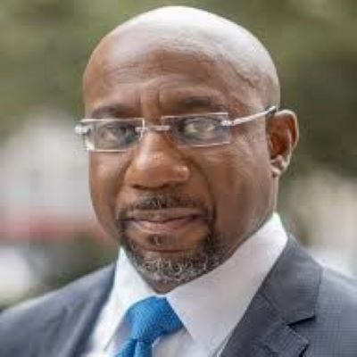"Raphael Warnock defeats Republican Senator Kelly Loeffler in Georgia Senate Race ""by a Lot""."