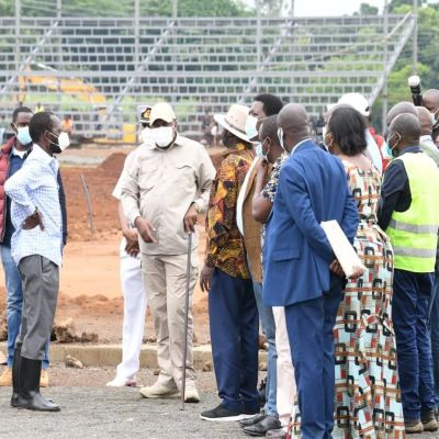 Uhuru Kenyatta & Raila Odinga inspect Development Projects in Kisumu