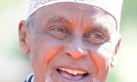 Garissa Senator Yussuf Haji dies and laid to Rest at 80