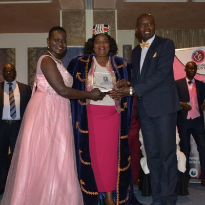 Hekima Kaka Society recognizes Dr. Ida Odinga.