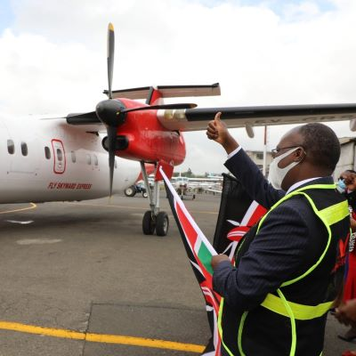 Skyward Express Launches Nairobi-Malindi Route