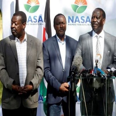 War of words in NASA over Raila Odinga's 2022 candidacy