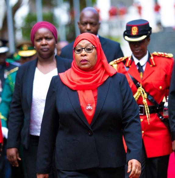 Suluhu Hassan sworn in as Tanzania's 6th President